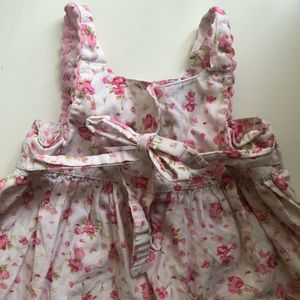 Blueberi Boulevard Dresses - Pink and White Flower Dress
